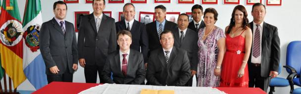 Empossados Prefeito, Vice e Vereadores no município de Mormaço