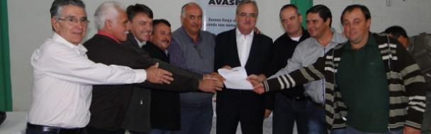 Presidente da Assembleia Legislativa participou de encontro da Avasb