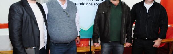 Vereadores de Mormaço participaram de reunião da Avasb em Victor Graeff