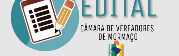 EDITAL DE CONVOCAÇÃO DE AUDIÊNCIA PÚBLICA ao Projeto de Lei nº 030/2019
