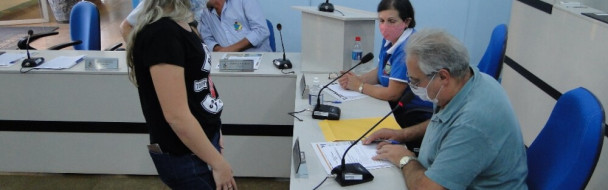 Suplente Jessica Possa assume na Câmara de Vereadores de Mormaço
