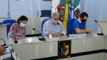 Fotos da Sessão Ordinária do dia 19 de maio de 2020