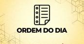ORDEM DO DIA DA SESSÃO ORDINÁRIA DE 26 de ABRIL DE 2021
