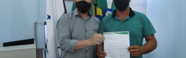 Supervisor da Coagrisol visita o Poder Legislativo de Mormaço